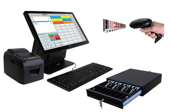 Touchscreen Kassen für den Einzelhandel