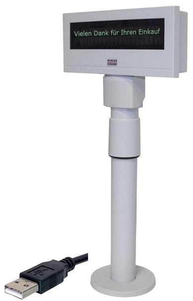 Kundendisplay BA-63 mit USB-Anschluss von Wincor Nixdorf (Kundenanzeige) - 001