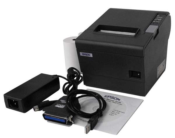 Thermo-Bondrucker EPSON TM-T88IV + USB-Adapter (Parallel zu USB).
