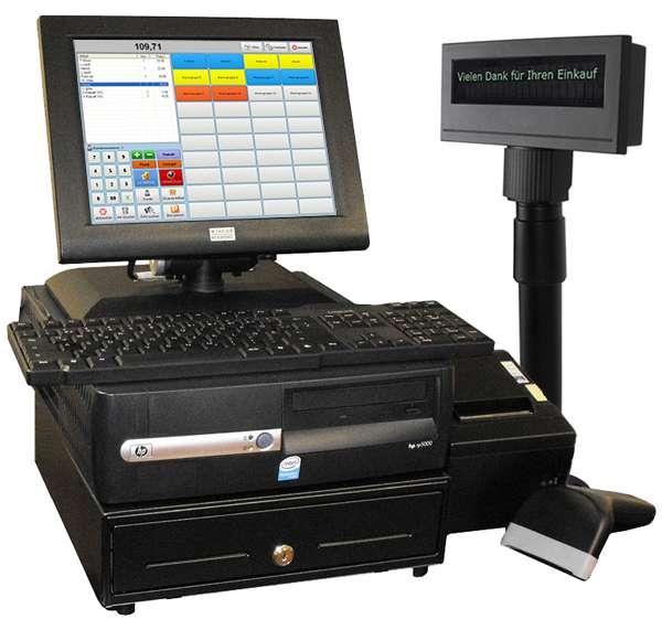 Kassensystem mit Software POSpom Handel PLUS 4.1 für den Einzelhandel