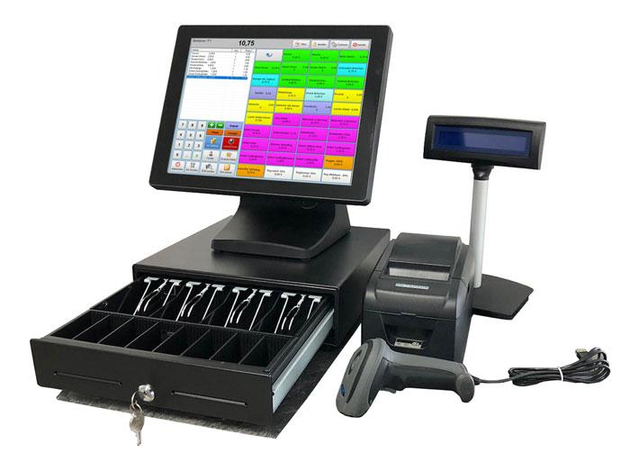 Kassensystem Computerkasse für den Einzelhandel, Textilgeschäft etc.
