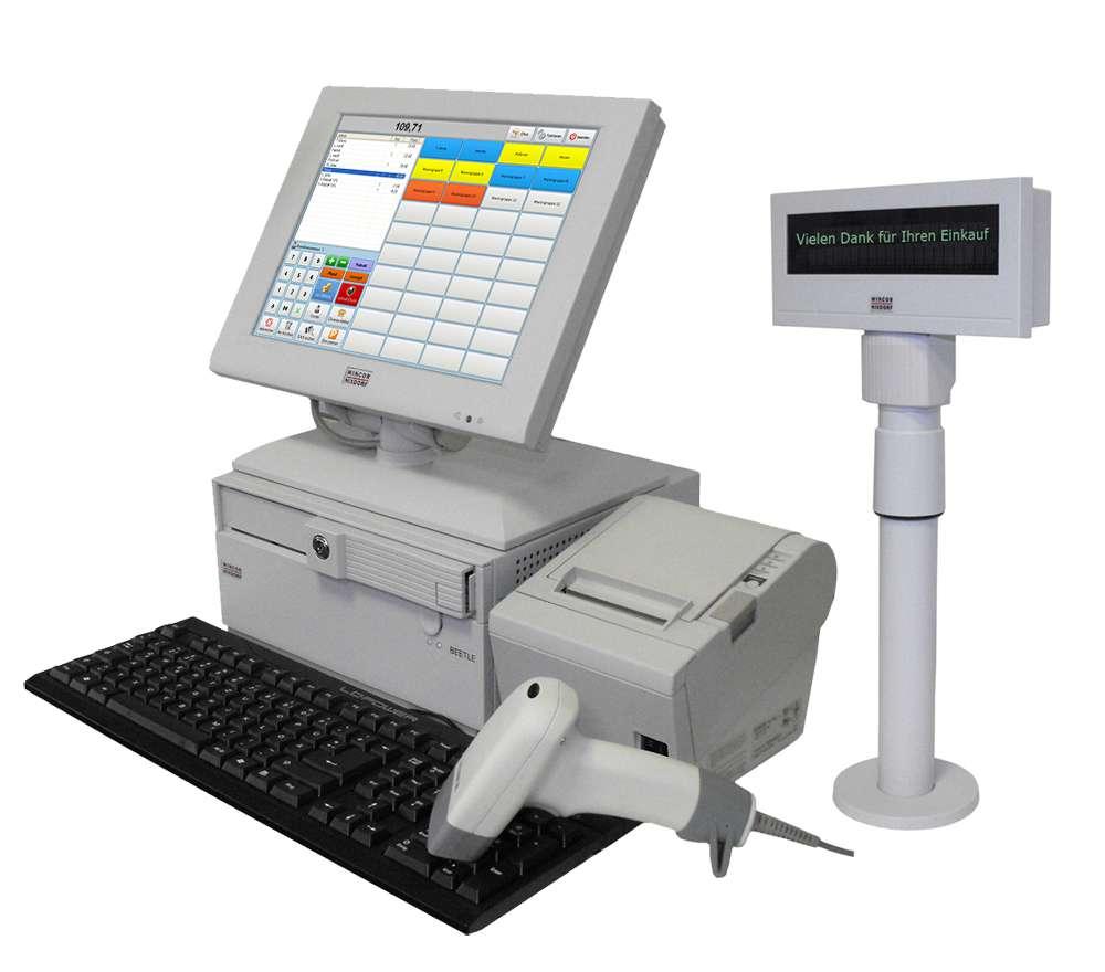 Kassensystem für Kiosk und Lotto-Toto