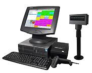 Touchscreen Kasse für Einzelhandelsgeschäft
