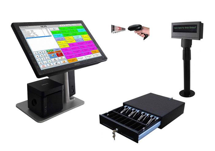 Kassensystem für Einzelhandel, Getränkemarkt etc.