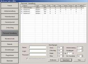 Software POSprom Einzelhandel (Blitz!Kasse) für Touchscreen Kassensysteme - 008