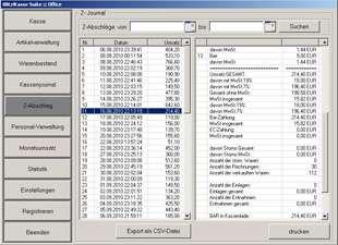 Software POSprom Einzelhandel (Blitz!Kasse) für Touchscreen Kassensysteme - 009