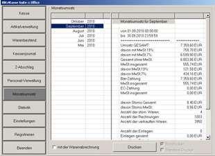 Software POSprom Einzelhandel (Blitz!Kasse) für Touchscreen Kassensysteme - 010